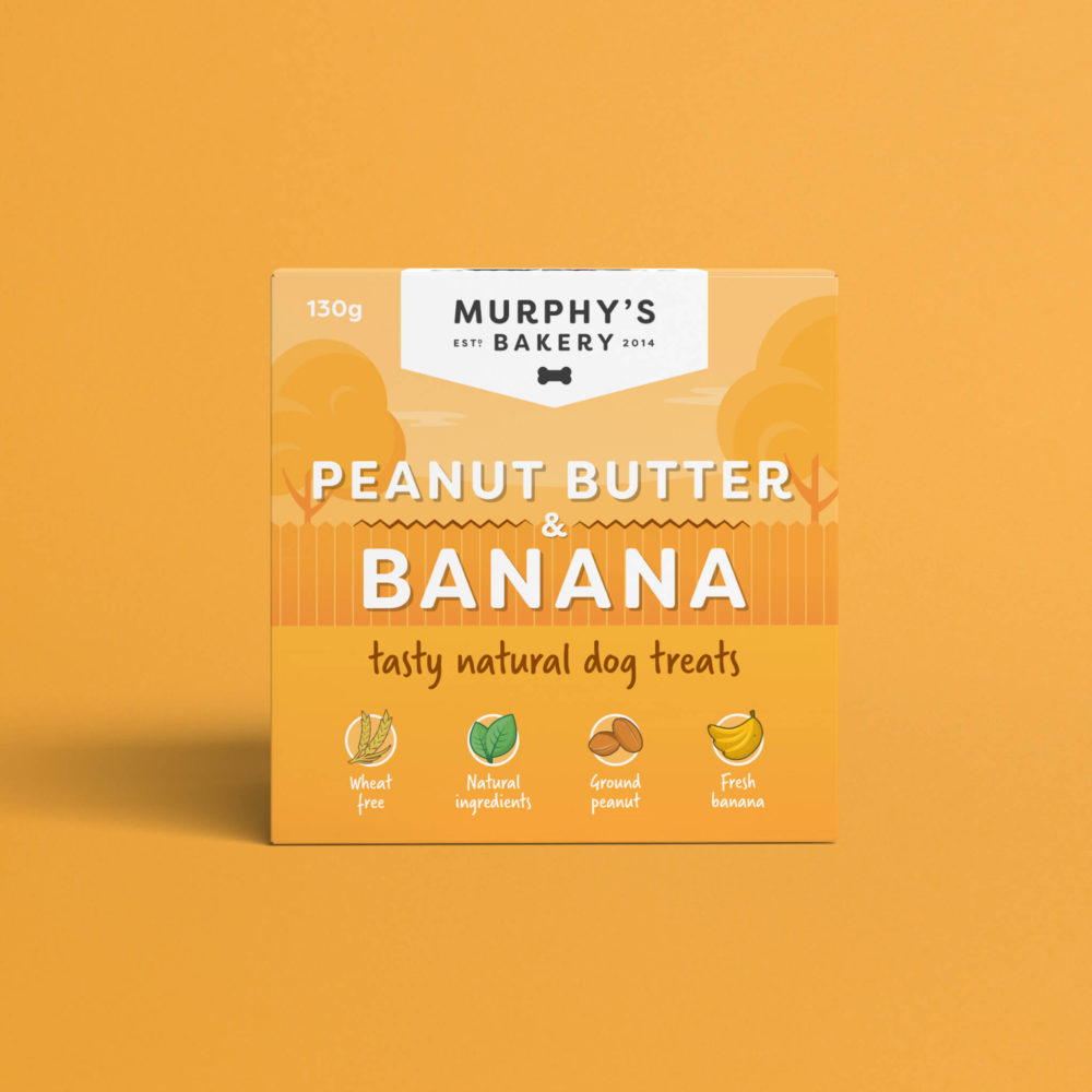 Murphy's Bakery Peanut Butter & Banana Packaging