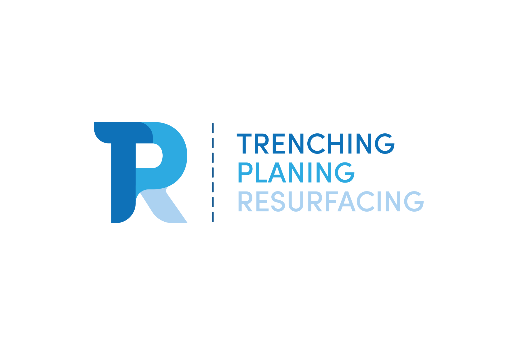 Trenching Planing Resurfacing Logo