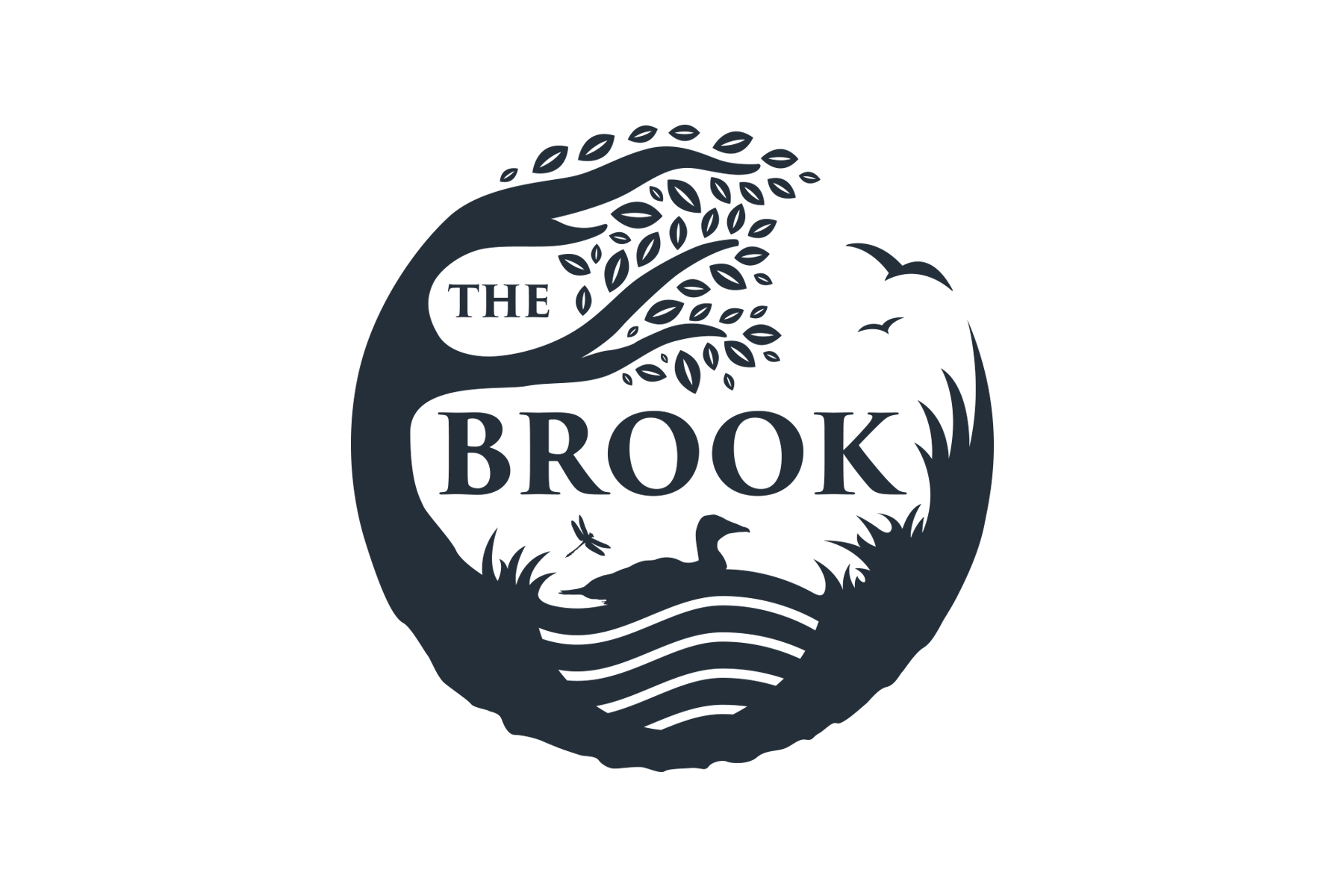 The Brook Logo