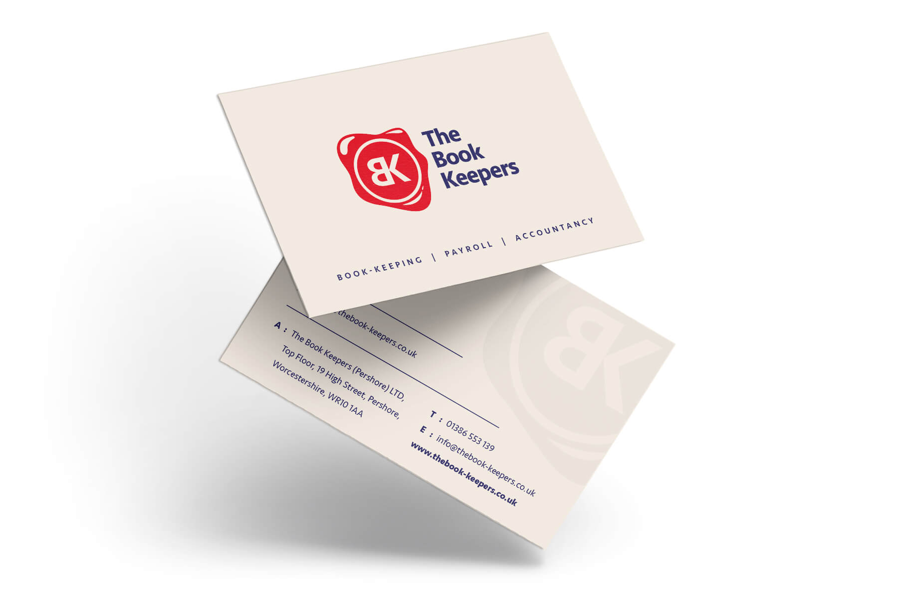 The Book Keepers Business Card